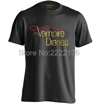 The Vampire Diaries Mens & Womens Trendy T Gömlek